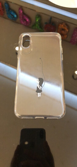 亿色(ESR) 苹果X手机壳 iPhone x手机壳保护套 个性透明硅胶软壳全包防摔男女 苹什么系列-苹果气球 晒单图