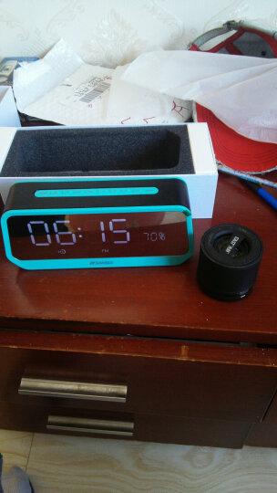 山水(SANSUI) A38s蓝牙小音箱 迷你音响 便携式插卡音箱 收音机手机音乐播放器 蓝色 晒单图