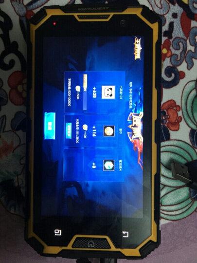 CONQUEST 征服S8 三防智能手机 防水对讲机 4G 双卡双待 超长待机 4GB+64GB版黄色 晒单图