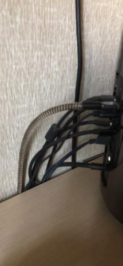 蛇神(SNAKESEN) 帕森 USB数据线 镀金屏蔽A-B方口连接线外接声卡DAC解码器升级线 1.5米 晒单图