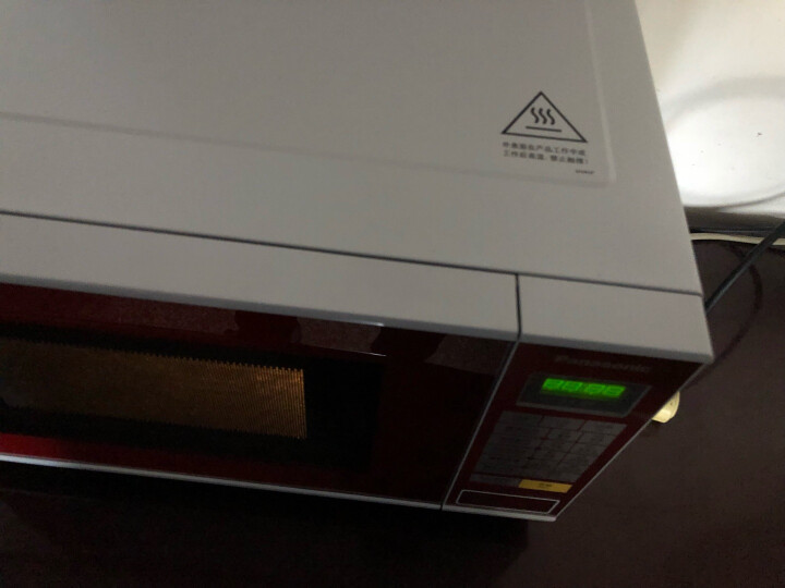松下(Panasonic) NN-GF351X 平板式智能微波炉 一级能效 23升 晒单图