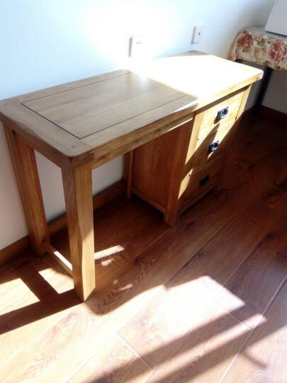 华谊 实木化妆桌 橡木梳妆台组合 卧室书桌 英伦乡村家具 梳妆台(不含化妆凳) 晒单图