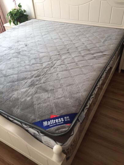 床垫 褥子 床垫子1.8m 床褥子 1.5m双人垫被学生宿舍床垫 榻榻米床垫 宽边法兰绒床垫棕色 180*200cm 晒单图
