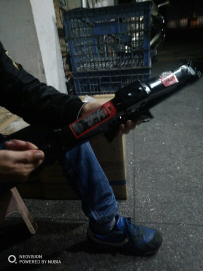 ANMA 可折叠十字扳手 汽车轮胎扳手 应急救援汽修工具 轮胎修理工具AM9106 晒单图