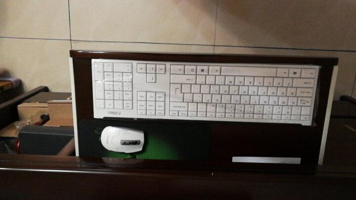 黑爵A3008无线机械键盘鼠标套装游戏青轴黑轴充电电脑无线键鼠套装(免驱无线 家用办公 特效背光) 黑轴-黑色 键鼠套装 晒单图