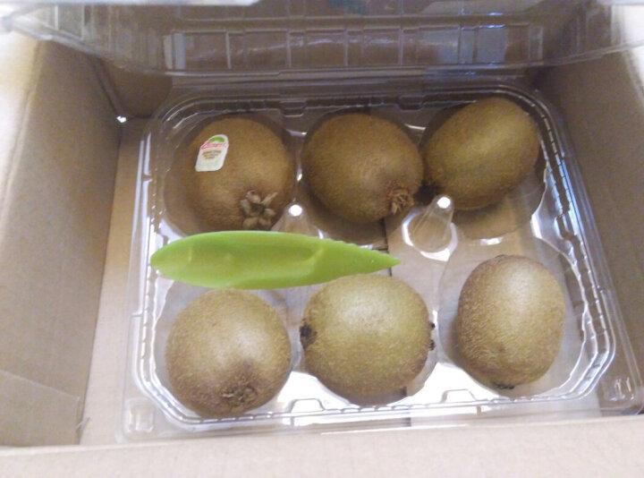 Zespri佳沛 新西兰有机绿奇异果 6个装 经典36果 单果重约90-100g 晒单图