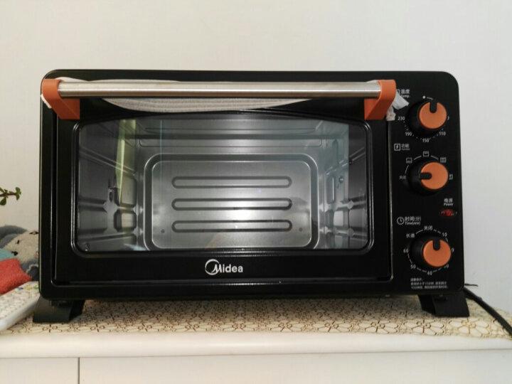 美的(Midea)MG25NF-AD二代 家用多功能电烤箱 25升 旋转烧烤 晒单图