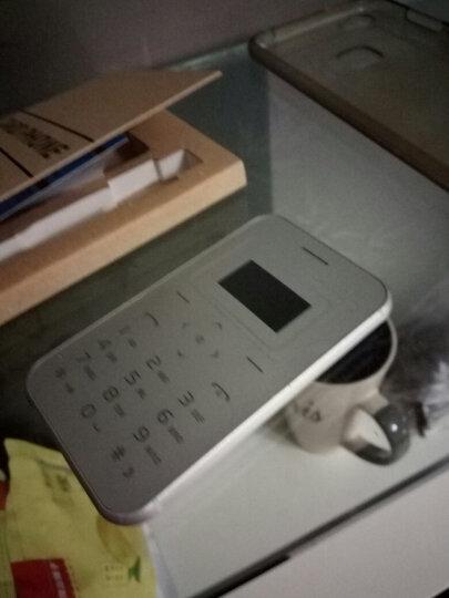 超薄卡片备用 迷你个性 袖珍学生儿童低辐射手机卡片机手机 便携 反智能 X8金色 晒单图