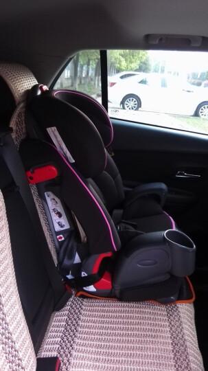 葛莱 GRACO鹦鹉螺儿童汽车安全座椅9月-12岁8J96 8J96粉色 晒单图