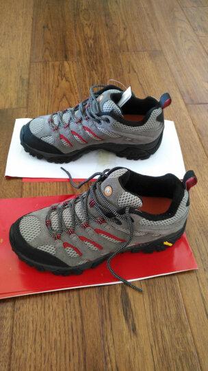 迈乐(Merrell) MERRELL迈乐 Moab男鞋轻装徒步登山鞋户外透气运动避震 灰色 43 晒单图