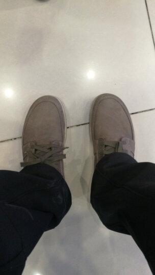 ECCO爱步 时尚简约运动休闲男鞋 透气舒适系带磨砂牛皮鞋 爱欧瓦532714 灰色59713 41 晒单图