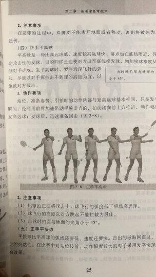 羽毛球训练教程(附光盘) 晒单图