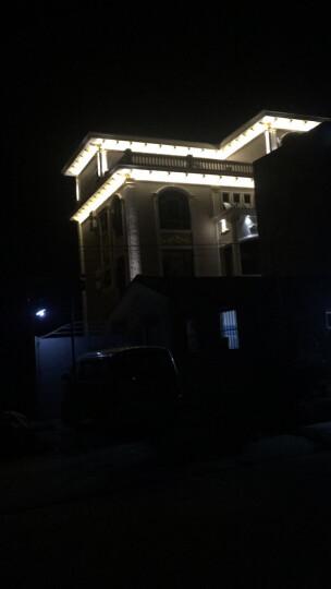 琦颖led光束灯聚光酒店户外墙防水远程窄光10w柱光投射城市夜景亮化楼宇字体照明 绿光 10W 晒单图