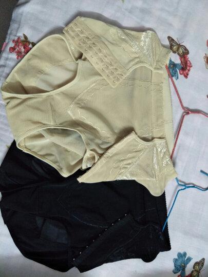 熙娇兰塑身衣收腹裤塑腰带收腹带美体产后收腹束腰美体塑身裤束身带女士腰封塑身内衣 排扣黑色 XXL(体重130斤-140斤) 晒单图