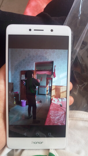 【新年货】荣耀 畅玩6X 4GB+64GB 全网通4G手机 尊享版 冰河银 晒单图