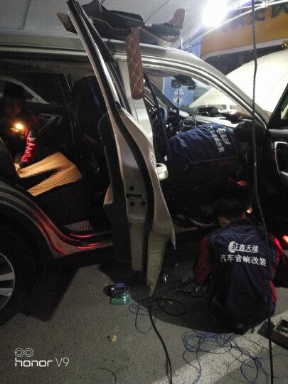 德国伊蔓发烧专业级车载汽车功放块板4声道12V四路汽车音响改装套装喇叭同轴扬声器 晒单图