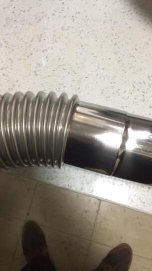 科帕滋KEPAZI 锅炉热水器不锈钢燃气排烟管强排管燃气热水器排气管7公分配件 铝箔胶带4米装 晒单图