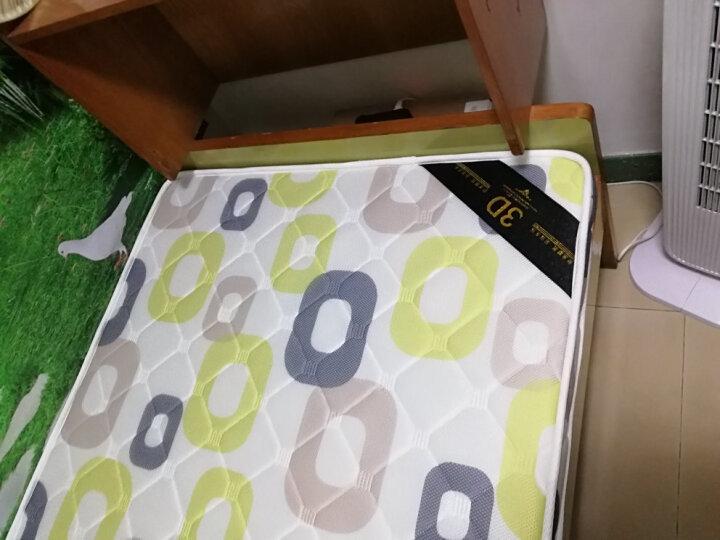 玖悦 天然椰棕床垫 1.2成人棕垫1.5软硬双人1.8米定做棕榈床垫3D环保薄乳胶床垫 5cm  灰色3D透气面料+3E椰棕 180*200 晒单图
