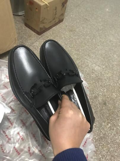 Salvatore Ferragamo 菲拉格慕 男士GOTHAM系列黑色牛皮休闲皮鞋 0642907 6.5/40.5 EEE 晒单图