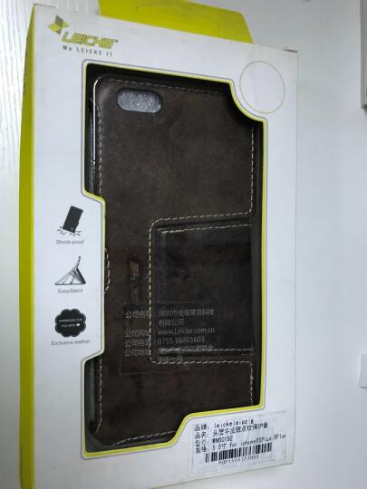 德国莱克苹果iphone6/6s plus手机壳真皮防摔翻盖保护套 钱包款适用于苹果8/7/6s plus 晒单图