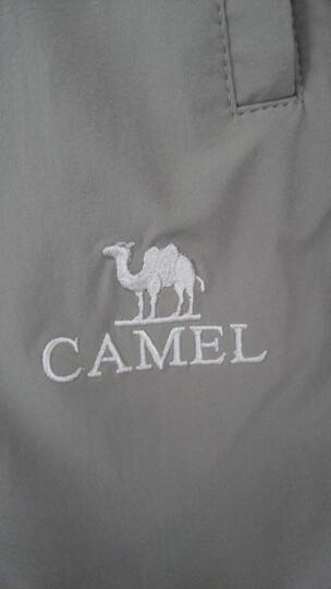 骆驼(CAMEL) 户外速干长裤 男女款轻薄徒步登山男 A7S218111 暗军绿 L 晒单图