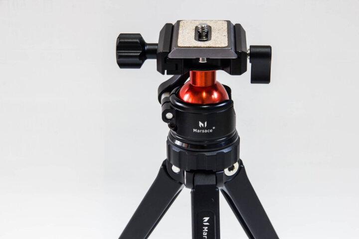 【小而强】马小路(marsace)MT-01手机三脚架云台单反相机迷你便携桌面支架 晒单图