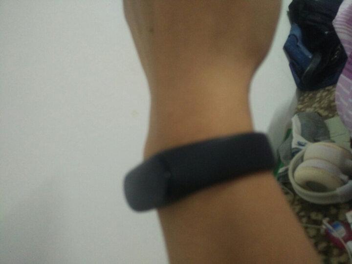 手环 智能运动血压心率男女防水手环手表计步器 小米OPPO华为VIVO三星苹果手机通用 蓝色 晒单图