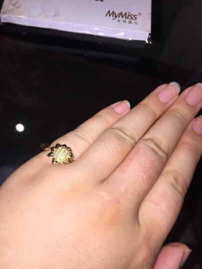 MyMiss Mymiss925银镀铂金花朵 韩版时尚银饰 向日葵 项链(银色) 晒单图