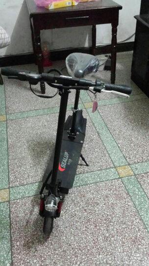 希洛普(SEALUP) 锂电池折叠迷你电动车 城市便携电瓶车自行车  电动滑板车 可折叠电动车电瓶车 三避震 10.4AH升级款35-50公里 晒单图