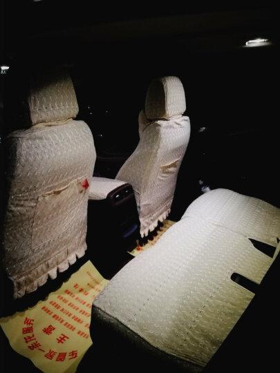 威威 加厚刺绣全包汽车座套 女 半截套 蕾丝四季专用座椅垫套迈腾途观L君威a4l奥迪A6L Q5L 全包围款 四色可选 拍下请留言颜色和车型 别克昂科威君越君威英朗GT威朗昂科拉凯美瑞RAV4 晒单图