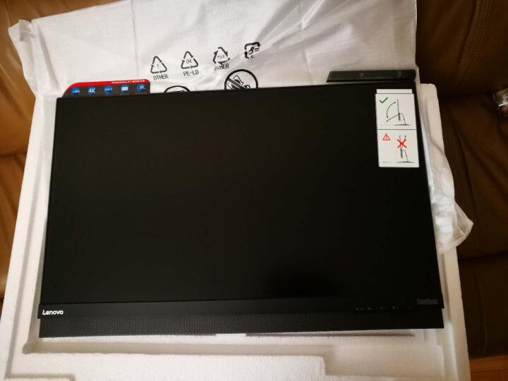 联想(ThinkVision)X1 27英寸纤薄窄边 4K高清 全功能USB Type-C 电脑显示器(HDMI/DP接口) 晒单图