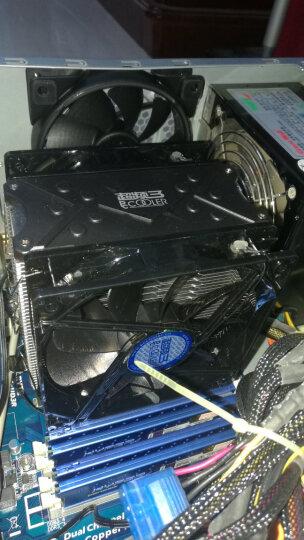超频三(PCCOOLER)东海X6 CPU散热器(多平台/支持AM4/1151/5热管/PWM温控/12CM静音风扇/附带硅脂) 晒单图