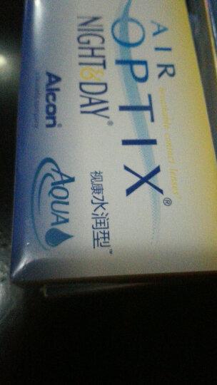 爱尔康视康近视隐形眼镜月抛3片盒装 水润日夜型 硅水凝胶进口 1000度 晒单图