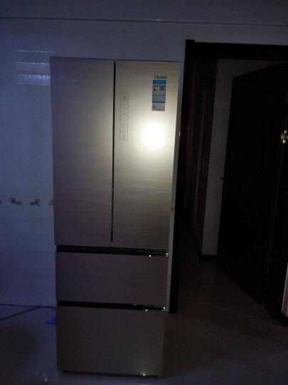 海尔(Haier)冰箱4 2 6升多开门风冷无霜家用变频多门电冰箱干湿分储 晒单图