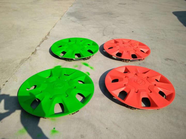 美蒂亚汽车轮毂喷膜车身改色膜手撕轮毂改色镀膜自喷漆可撕手喷车漆汽车饰品保护膜 荧光绿一瓶 晒单图