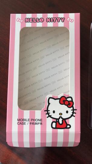Hello Kitty 苹果XS手机壳iPhonex/xs/10卡通硅胶防摔保护套 棉花糖凯蒂猫红色 晒单图