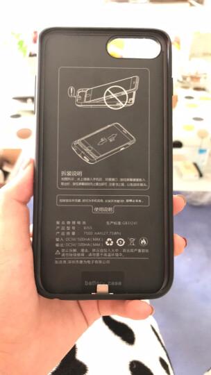 唐为(TANGWEI) Apple iPhone背夹充电宝背夹电池苹果6/7/7P/8P 4.7中国红(苹果8/7/6)5000mAh 晒单图