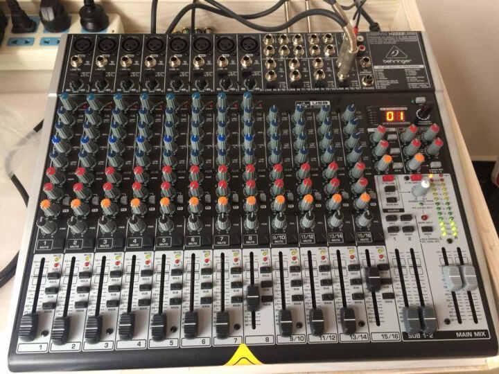 百灵达(Behringer) X2222USB调音台专业 舞台 会议 家庭娱乐 带效果 声卡功能 晒单图