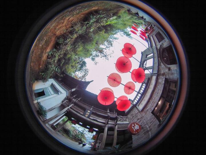 得图Detu Sphere S全景相机 3D智能360度VR运动摄像头一键720全景分享 黑色 晒单图