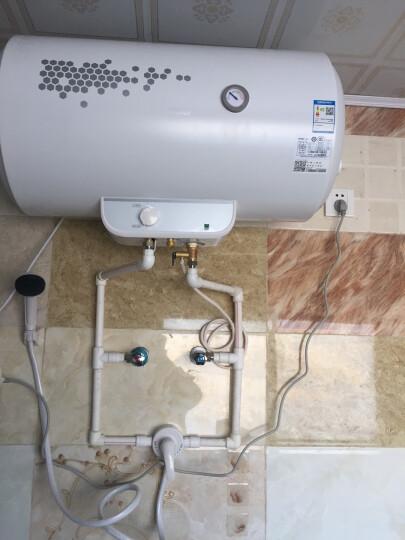 海尔(Haier)60升电热水器 可外接太阳能双热力 专利2.0安全防电墙EC6001-SN2 晒单图