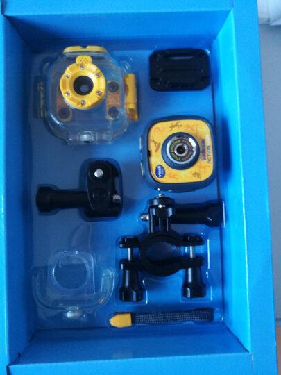 伟易达(Vtech)ACTIONCAM儿童运动摄像机智能游戏照相机防水启智玩具 橙色儿童运动摄像机 晒单图