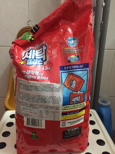 山精灵(Sandokkaebi)韩国原装进口加酶浓缩洗衣粉3.3kg 冷水速溶 晒单图