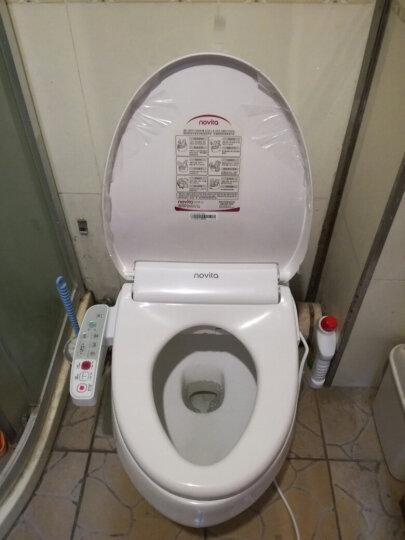 科勒旗下品牌诺维达(novita)智能马桶盖 即热式进口洁身器坐便盖板BD-OK353ST短款(即热带暖风) 晒单图