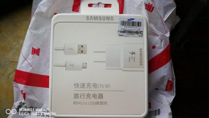 三星(SAMSUNG)三星充电器 快充充电器/安卓USB 2.0数据线(适用于三星无线充电器)适用S7 edge/S6 edge+/Note5/Note4/C5/C 晒单图