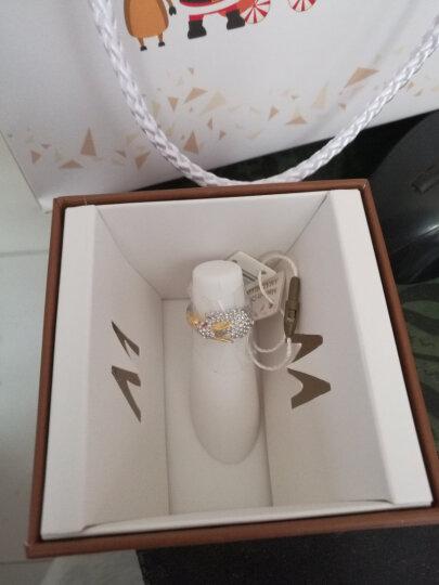 MyMiss 十二生肖戒指 女食指开口 925银镀铂金指环 情人节礼物 情侣送礼 银饰品 兔 (商家配送) 晒单图