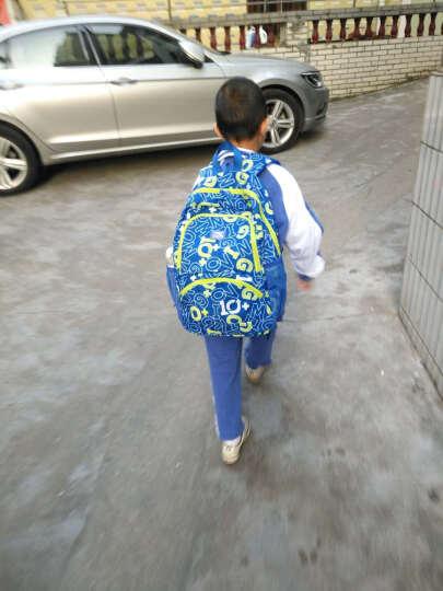 安踏儿童书包 中小学生书包2018秋季男女童双肩包 D 玫红色-3 S 晒单图