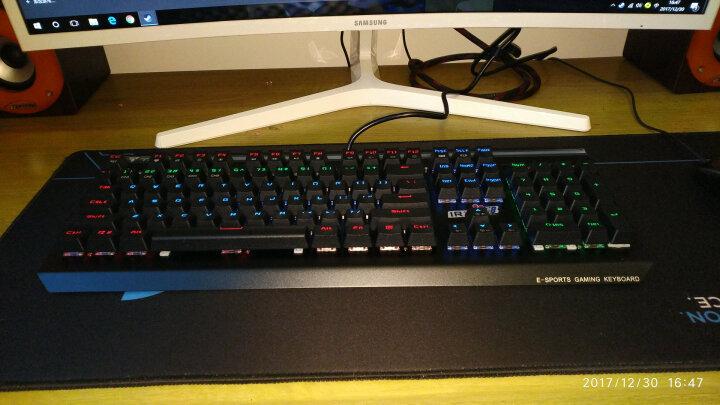 钛仑 KG011法老之鹰 光电轴机械键盘 游戏键盘 IP68防水防尘键盘  炫光键盘 黑色 晒单图
