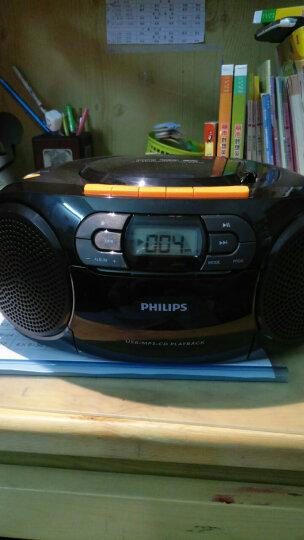 飞利浦(PHILIPS)AZ329/93 音响 CD播放机 收录机 学习机 磁带机 胎教机 USB播放 SD插卡便携收音机 晒单图