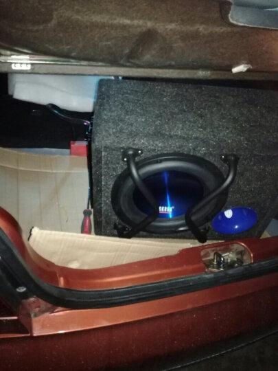 洛克时代(ROCK EAR) 汽车音响 车载低音炮10寸 车载音响改装 有源内置功放重低音炮10LG 低音炮+车门喇叭套装 晒单图