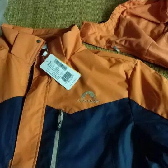 361度男装 正品夏季绒里风衣外套运动外套  N 绅士蓝 3XL 晒单图